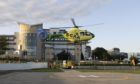 Scaa's Helimed 79 at Aberdeen Royal Infirmary