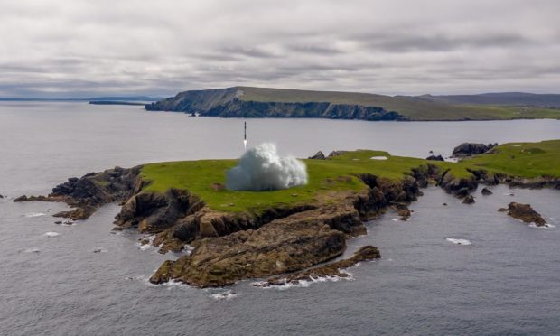Unst has been chosen as the location for rocket launches, with developers promising jobs and a financial boost for Shetland.