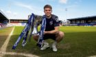 Former Ross County defender Marcus Fraser with the 2016 League Cup.
