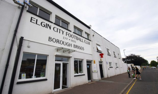 Borough Briggs, home of Elgin City.