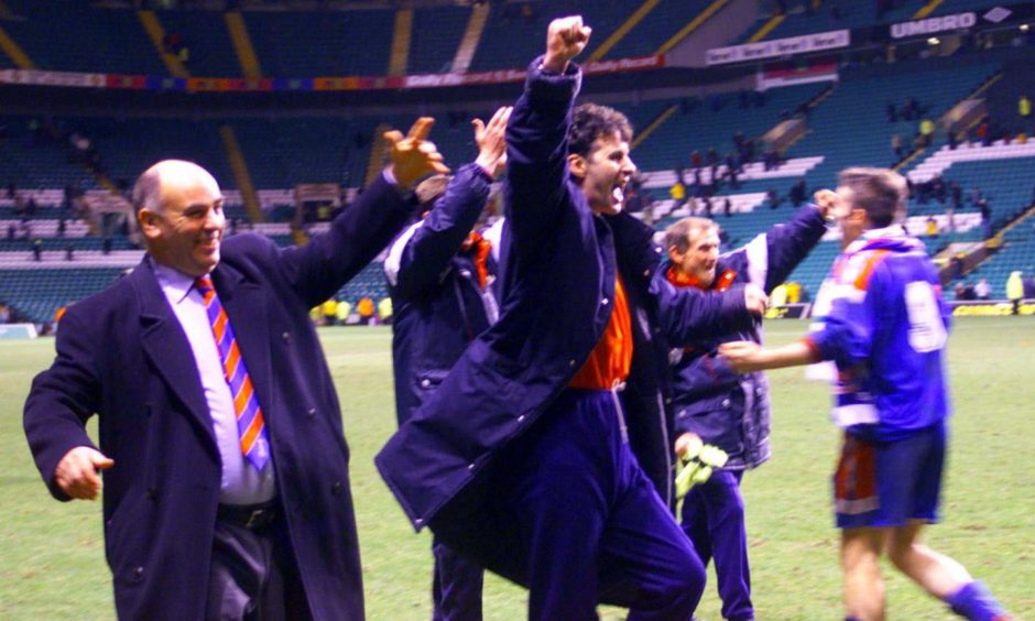 Steve Paterson and Caley Thistle were involved in one of the biggest Scottish Cup shocks of all time back in 2000.