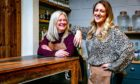 Kecia McDougall, left, and Mary McDougall of Tayport Distillery.