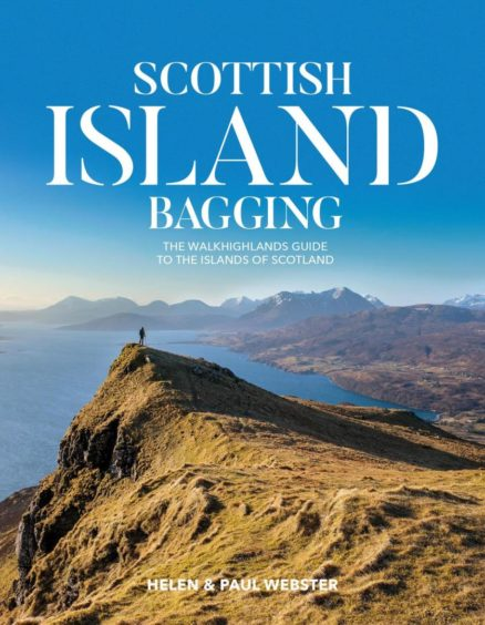 Third place: Scottish Island Bagging: The Walkhighlands guide to the islands of Scotland by Helen Webster & Paul Webster.