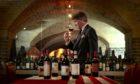 Wine expert Steven Spurrier.  Photo by Shutterstock.