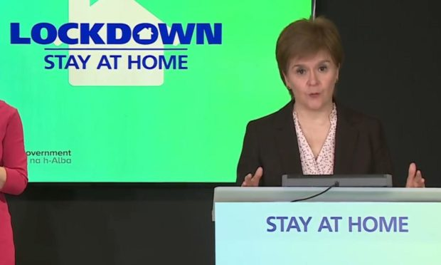 """Nicola Sturgeon says lifting Covid restrictions at the same pace across mainland Scotland will offer people """"maximum freedom"""""""