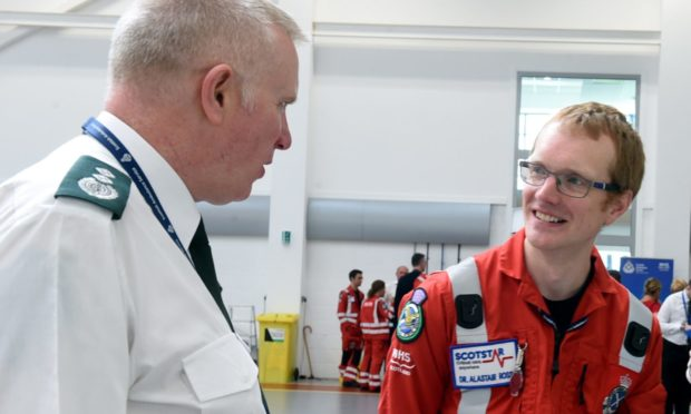 Scaa: The flying doctors who save lives at the roadside