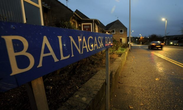 The man was attacked on Balnagask Road on Friday.