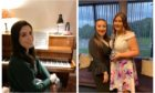Martha Forbes (left), Carys Taylor (middle) and Rebecca West (right) who were awarded bursaries at the 2020 festival by North East Scotland Performing Arts.