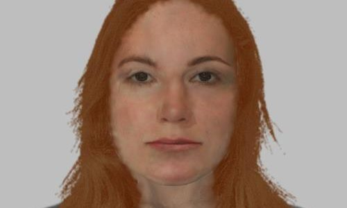 Police have released a composite image of a woman whose body was found on the Black Isle