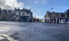 A pedestrian has been knocked down by a lorry in the Crown area of Inverness