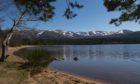 Loch Morlich and Cairngorms