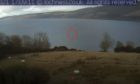 Ripples were spotted on a webcam by veteran Nessie spotter Eoin O'Faodhagain.