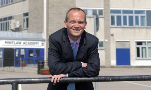 Laurence Findlay, Aberdeenshire Council's director of education and children's services, has written to parents ahead of pupils' return to school.