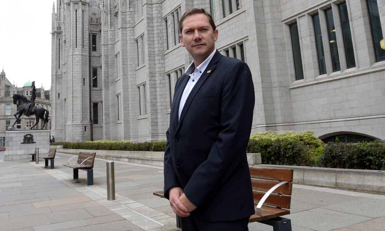 Aberdeen City Council co-leader Douglas Lumsden has called for Covid restrictions to be lifted faster in areas with fewer cases.