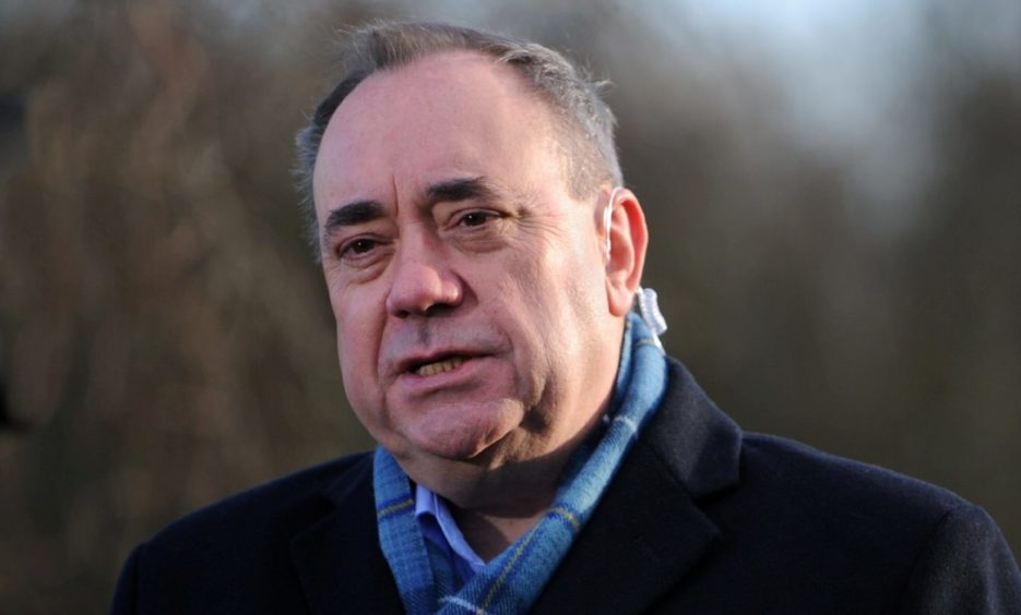 Former first minister Alex Salmond is now leader of the Alba Party.