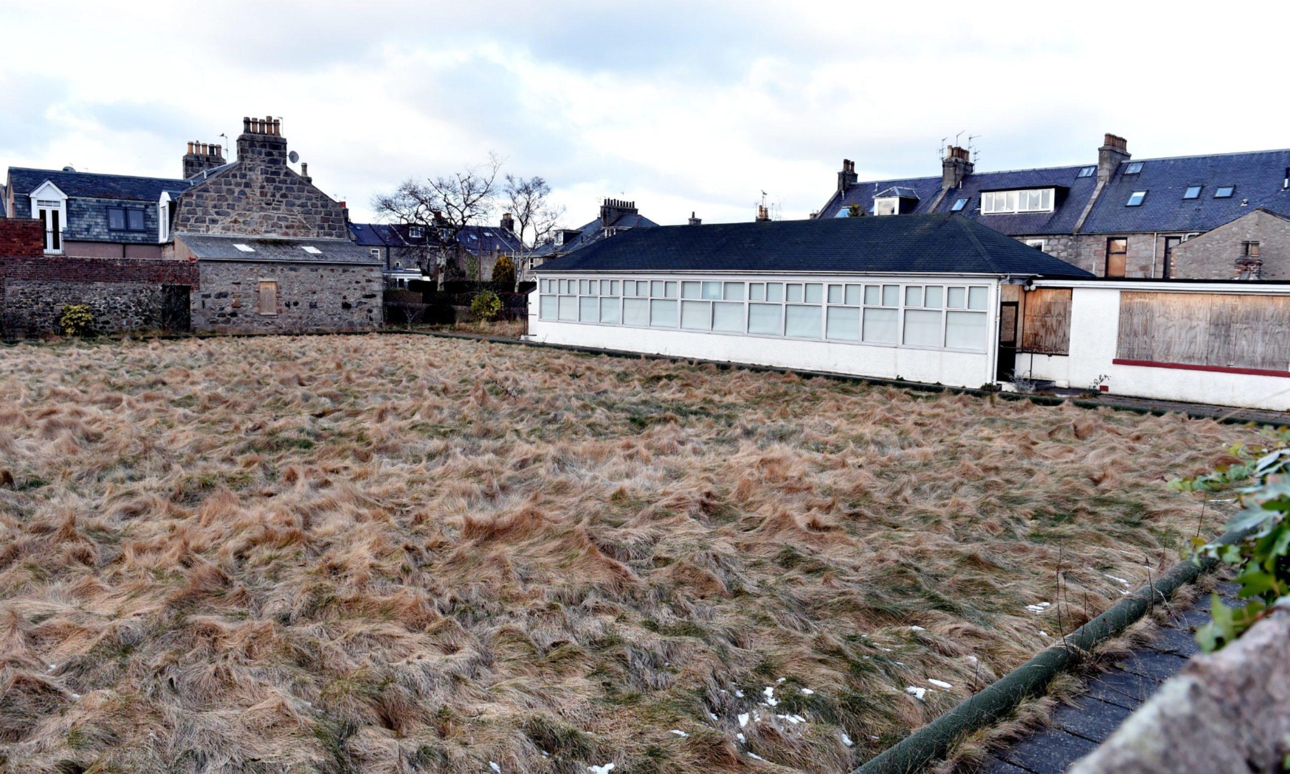 Bonnymuir Bowling Green in Aberdeen, before the community asset transfer.