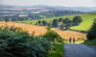 Cyclists near Kincorth. A 153-day-long Ride the North event is planned for summer 2021.