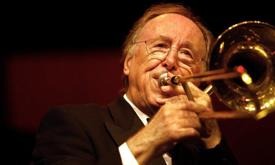 Mandatory Credit: Photo by Robert Vos/EPA/Shutterstock (8339632a) The Legendary Jazz Musician Chris Barber.