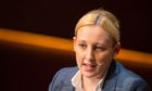 u Scottish National Party MP Mhairi Black during the Women in the World conference at Cadogan Hall in London.