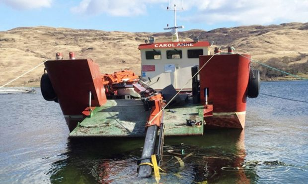 Jamie Kerr was a workboat skipper for Inverlussa Marine Services when the accident happened.