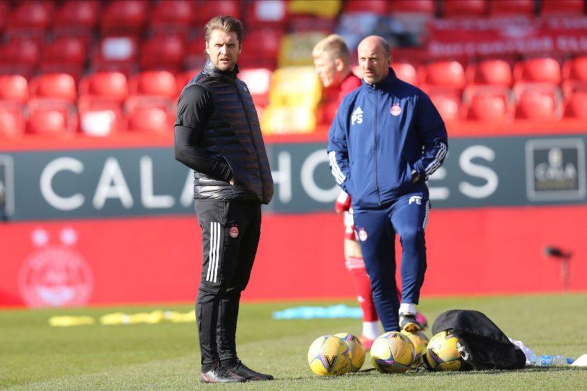 New Aberdeen coach Allan Russell.