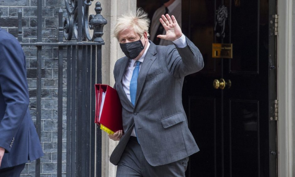 Boris Johnson Downing Street