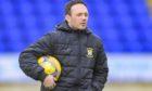 East Fife boss Darren Young.