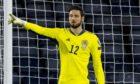 Scotland goalkeeper Craig Gordon.