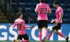 Daniel MacKay celebrates his goal against Ross County.