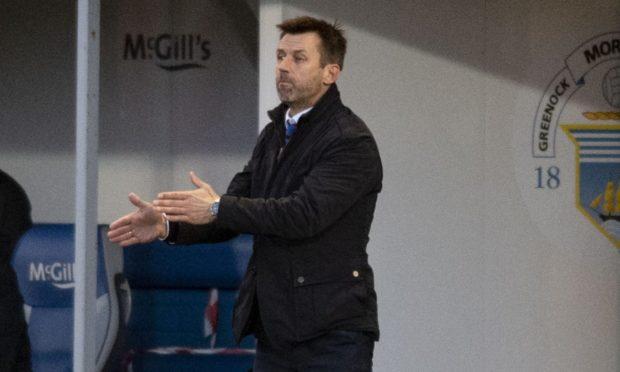 Caley Thistle interim boss Neil McCann.