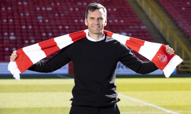 New Aberdeen manager Stephen Glass.