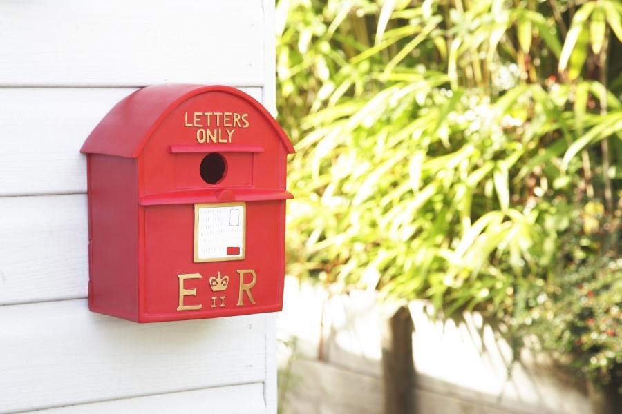 Postbox Bird House.