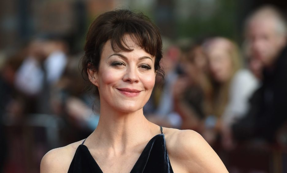 Actress Helen McCrory at the premiere of season two of Peaky Blinders.
