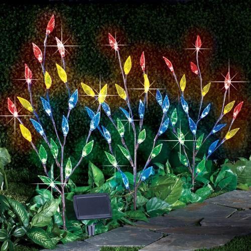 Leaf Branch Solar Garden Lights.