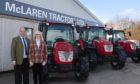McLaren Tractors managing director, George McLaren, and company secretary Fiona McLaren.