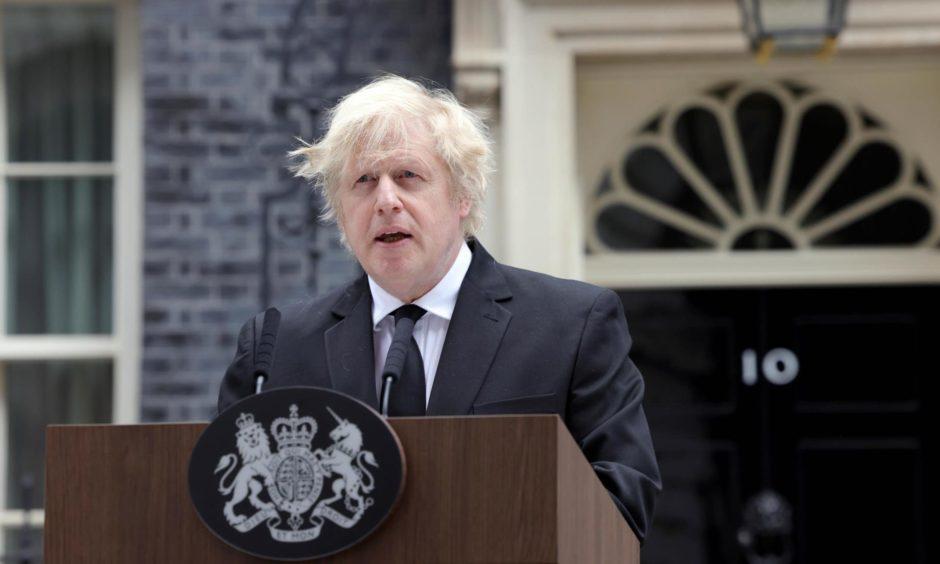 Boris Johnson flat