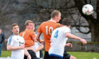Jaime Wilson scores during his time with Rothes.