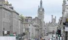 Aberdeen city centre.