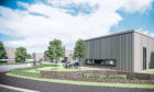 CGI of business units at new Altens Gate business park