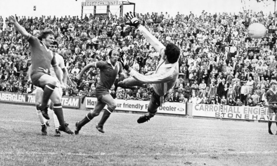 Joe Harper remains a legend at Pittodrie although he famously did not see eye to eye with Alex Ferguson.