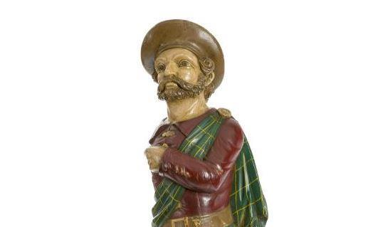 The figurehead model is from the Abergeldie clipper ship.