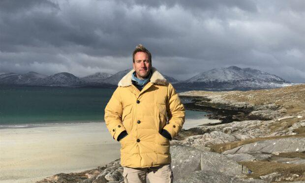 Ben Fogle explores Scotland's islands in his new series.