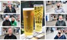 People in Aberdeen have their say on the beer gardens reopening.