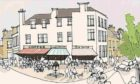 Artists impression of how Brora can be improved.