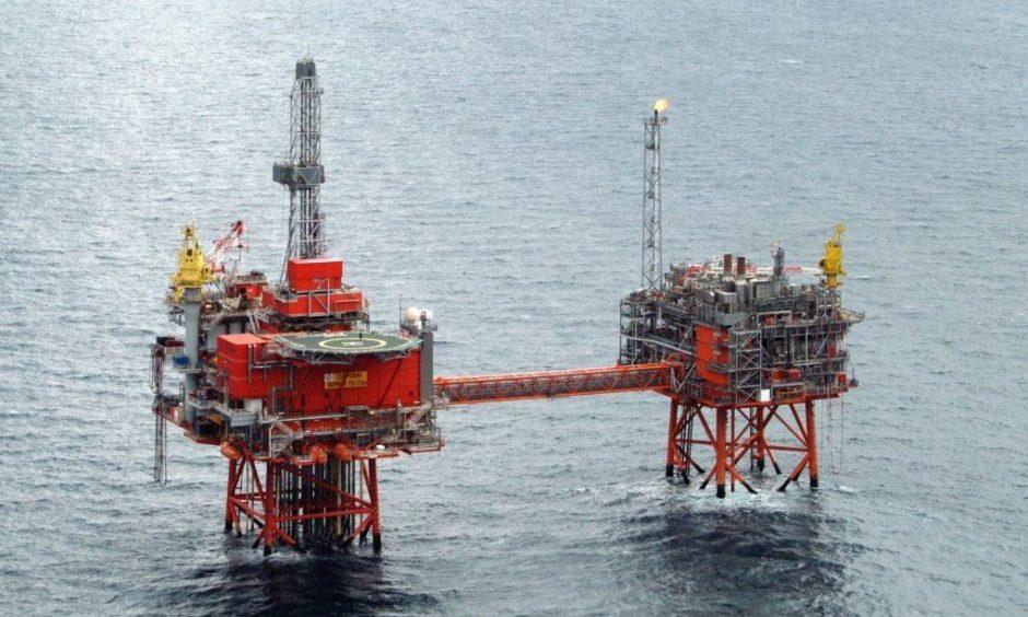 North Sea oil support