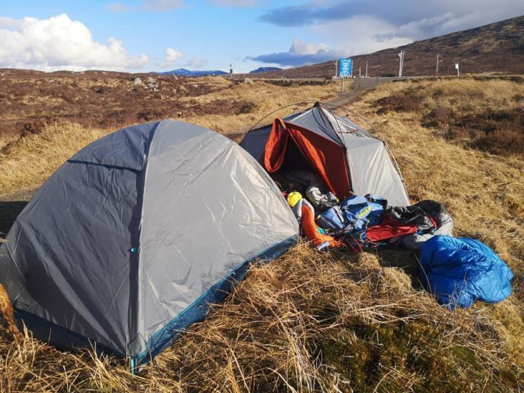 Concerns about wild camping have been raised ahead of lockdown easing this weekend