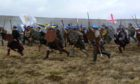 Culloden battle charge.