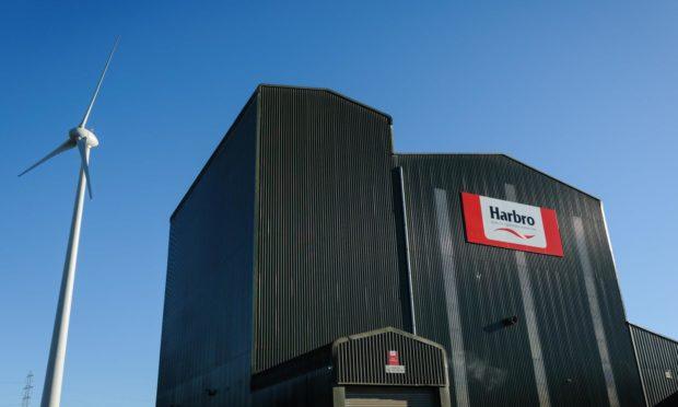 Harbro's Birkhill Mill in Lanarkshire.