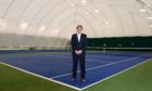 Club director Robin Caldwell of Kippie Lodge in Milltimber, one of the many sports and leisure facilities gearing up to reopen on Monday, after being given the green light for indoor use by the Scottish Government.