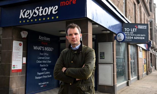 Andrew Bowie is calling on Stonehaven businesses to apply to run the Stonehaven Post Office.